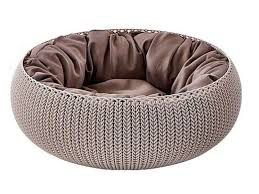 Cama Cozy Pet Com Almofada Knit Curver Cozy Pet Bed
