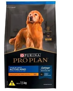 Ração Super Premium Purina Pro Plan Active 7 + para Cães Idoso de todos os tamanhos 7,5KG