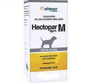 Antipulgas Hectopar Spot M cães 4 a 10kg