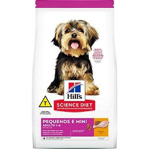 Ração Hill's Science Diet Canino Adulto Raças Pequenas e Miniaturas 2,4kg