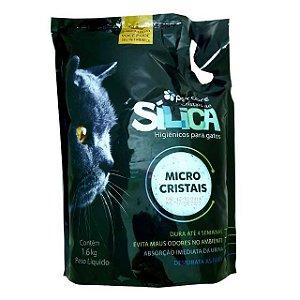 Granulado Sanitário Sílica Micro Cristais PetCare 1,6kg