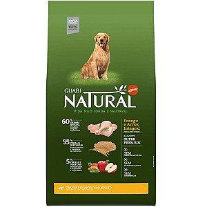Ração Affinity Guabi Natural Frango e Arroz Integral para Cães Adultos Raças Grande e Gigante 15kg