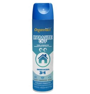 Spray Organnact Antipulgas para Ambiente Parasite Off 400ml