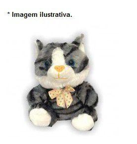 Brinquedo Gatinho de Pelúcia Toy para Cães e Gato