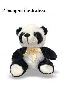 Brinquedo Panda de Pelúcia Toy para Cães e Gato
