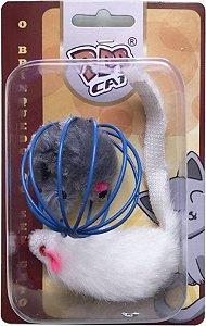 Brinquedo Interativo RATIX para gato com 02 unidades