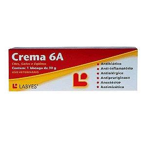 Pomada Antibiótica Crema 6A 30g