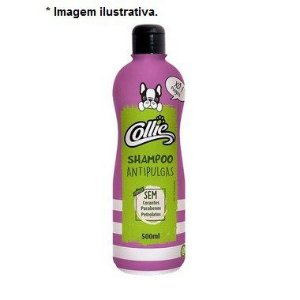 Shampoo Antipulgas Collie para Cães 500ml