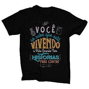 Camiseta Preta Carpe Diem (Unissex)