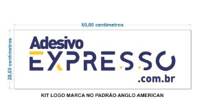 KIT LOGO PADRÃO ANGLO AMERICAN
