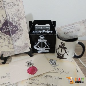 Kit Normal Harry Potter - 6 Itens