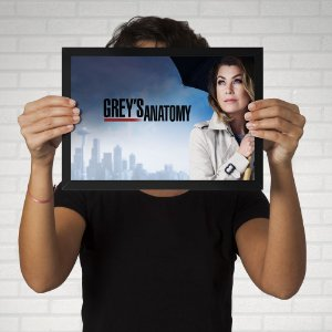 Poster Grey's Anatomy - Meredith Grey