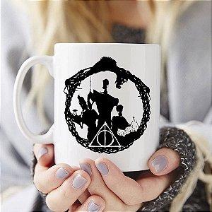 Caneca Harry Potter - Conto dos 3 Irmãos