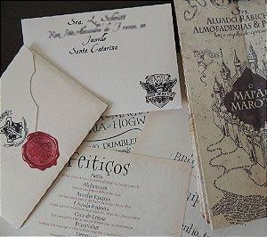 Kit Convocação Harry Potter