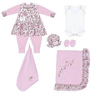 Saída Maternidade Primavera 7 Peças