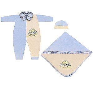 Saída Maternidade Carrinhos 3 Peças
