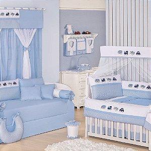 Quarto para Bebê Sem Cama Babá Transportes