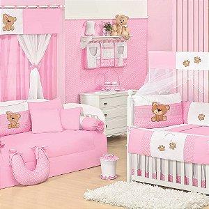 Quarto para Bebê Sem Cama Babá Ursa Carinho
