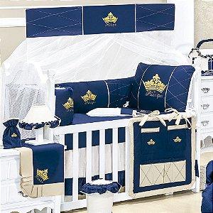Kit Berço Príncipe Luxo 9 Peças