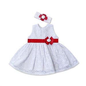 Vestido Maria Branco