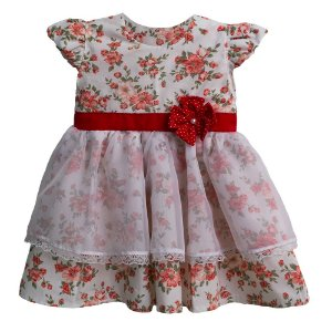 Vestido Menina Mimo Floral