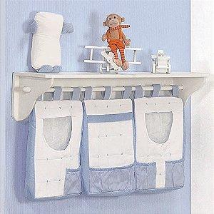 Porta Fraldas de Parede Baby Zoo 3 PÇS