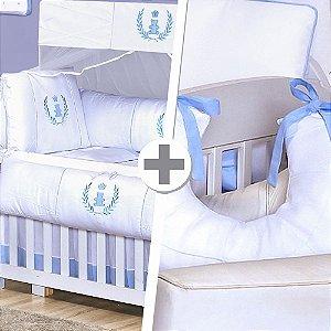 Combo Confort Realeza Azul Bebê