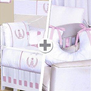 Combo Confort Realeza Rosa