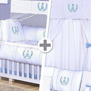 Combo Prime Realeza Azul Bebê