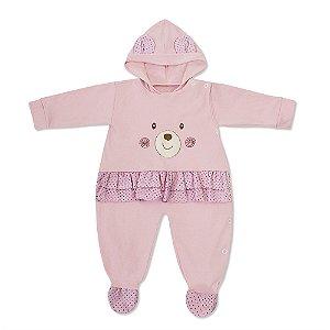 Macacão Teddy Bear Rosa