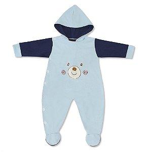 Macacão Teddy Bear Azul