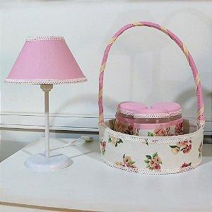 Kit Acessórios 5 Peças Floral Luxo