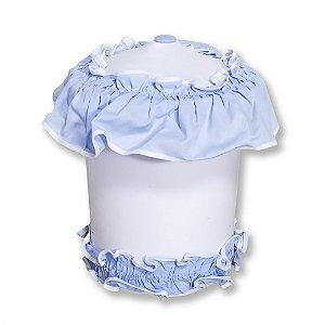 Lixeira Bichos Azul Bebê