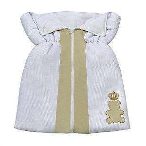 Porta Bebê  Urso Encantado Palha