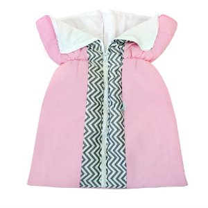 Porta Bebê Chevron Rosa