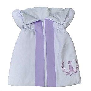 Porta Bebê Realeza Lilás
