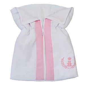 Porta Bebê Realeza Rosa