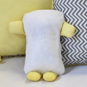 Travesseiro Soninho Chevron Amarelo