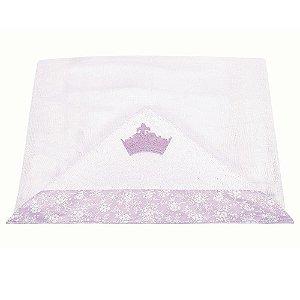 Toalha Com Capuz Princesinha