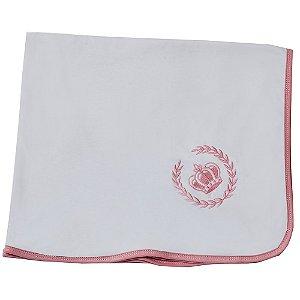 Cueiro De Malha Coroa Rosa