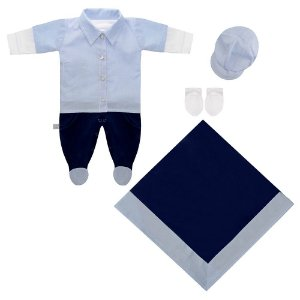 Saída Maternidade Pietro Azul