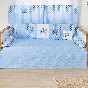 Kit Cama Babá Imperial Príncipe Azul Bebê