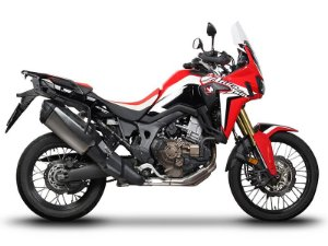 SUPORTE DE BAÚ LATERAL 3P SYSTEM H0FR16IF PARA HONDA CRF 1000L AFRICA TWIN