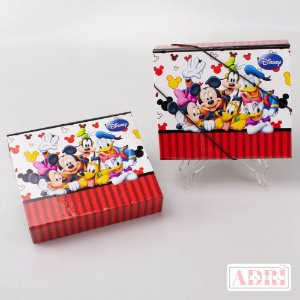 Estojo Kit Tela - Turma do Mickey
