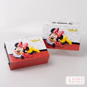 Maleta Kit Tela - Minnie
