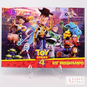 Kit Passatempo - Toy Story 4