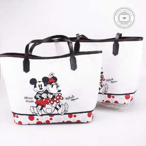 Bolsa de Praia em Tecido Sublimado - Mickey e Minnie