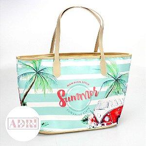 Bolsa de Praia em Tecido Sublimado - Summer
