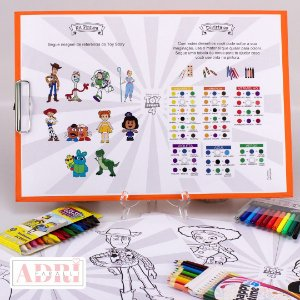 Risque Rabisque na Prancheta - Toy Story 4