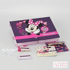 Caixa de Papelaria Personalizada 3 - Minnie